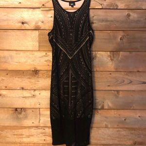 Mossimo fitted black dress